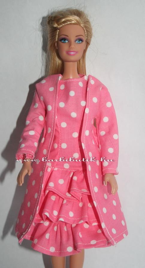 fordos barbie ruha kabáttal