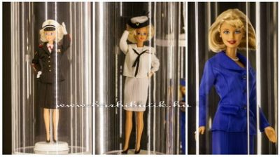 Barbie tengerészgyalogos, katonatiszt, elnök