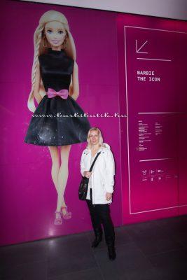 Barbie kiállítás Milánó bejárat