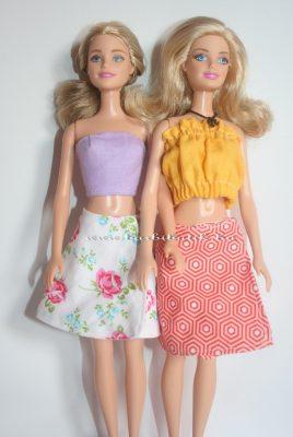 barbie kifordítható lapszoknya