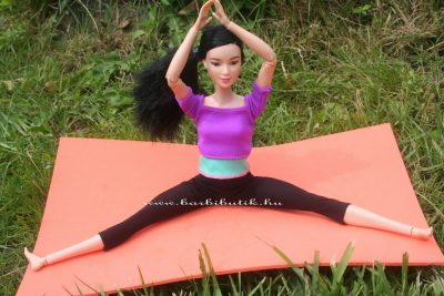 jógázós barbie 20