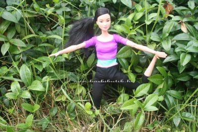jógázós barbie 21