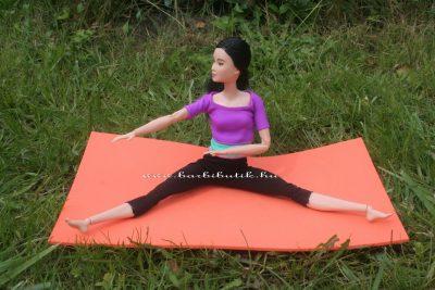 jóga barbie baba