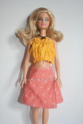 narancs barbie lapszoknya