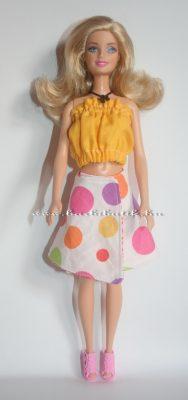 pöttyös barbie lapszoknya2