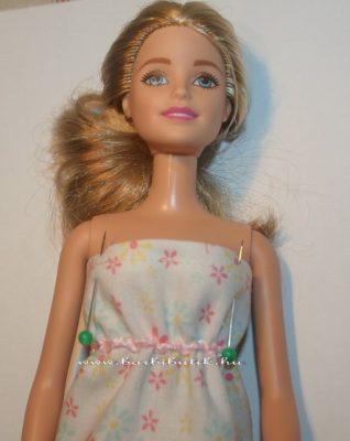 barbie hálóing készítése