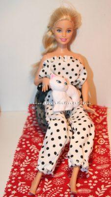 barbie babzsákfotel 2