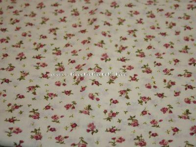 rózsás textil barbie ruhához