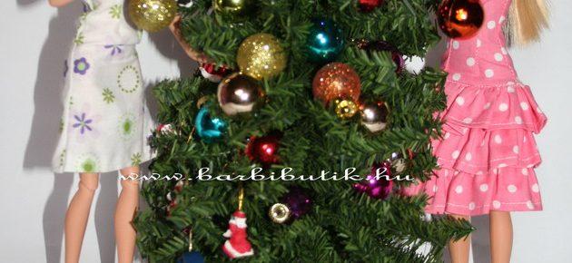 Karácsonyi történet, avagy készülődés Barbie módra