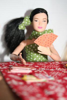 barbie kártyázás
