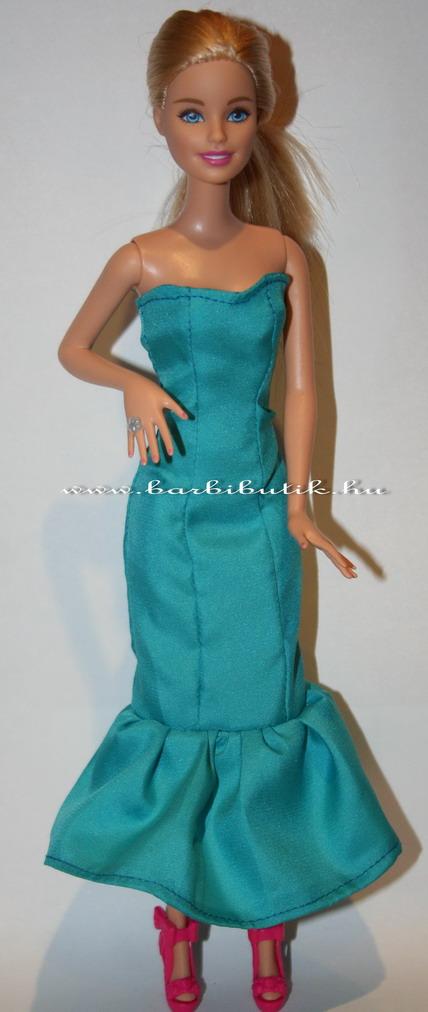 kék barbie estélyi