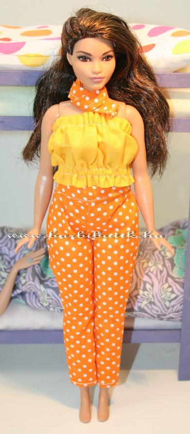 curvy barbie pöttyös nadrág 2