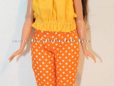 curvy barbie pöttyös nadrág szabásmintával