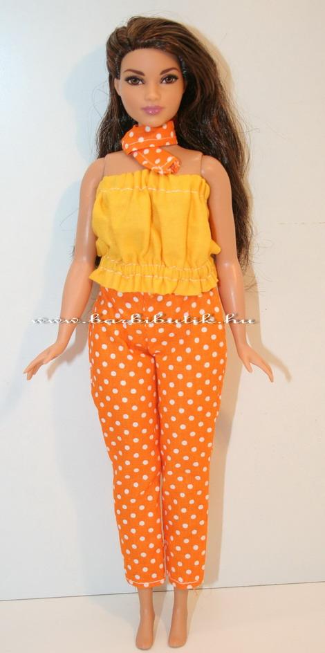 ... ruha készítő csomag Curvy (dundi) Nadrág. 🔍. curvy barbie pöttyös  nadrág szabásmintával 77a12606eb