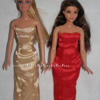 Barbie ruha készítő csomag Curvy (dundi) Estélyi Ruha 62dce05a0e