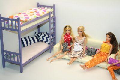 barbie kanapé és emeletes ágy 1