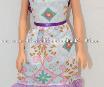 Barbie kötény készítés