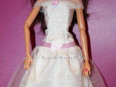 lila menyasszonyi barbie ruha