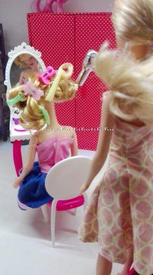 barbie fodrász