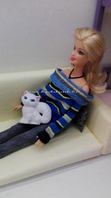 barbie pulóver cica