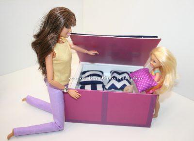 barbie gyerekágy ágymenűtartós