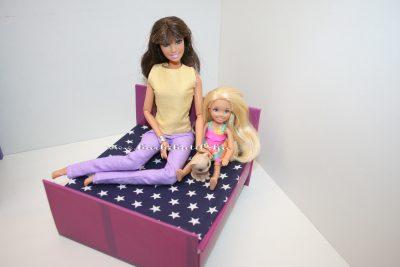 barbie gyerekágy chelsea