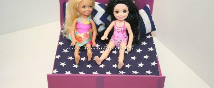 Ágyneműtartós ágy Barbie hugainak