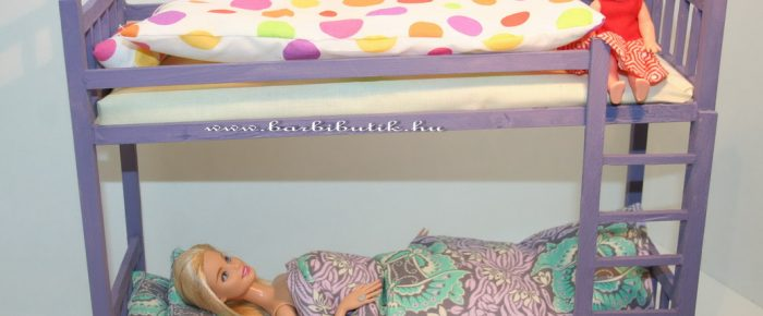 Barbie Emeletes ágy
