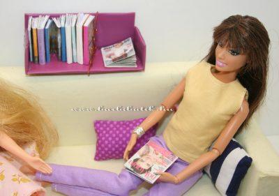 barbie nők lapját olvas