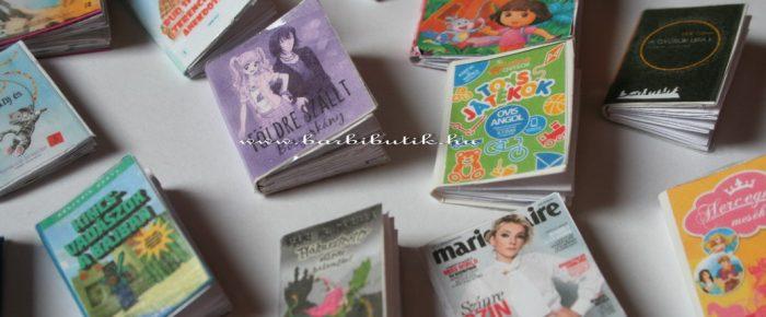 Könyvek Barbie méretben