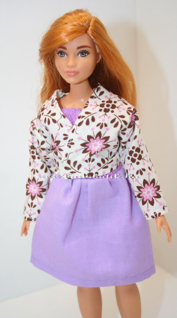 virágos kiskabát curvy barbie