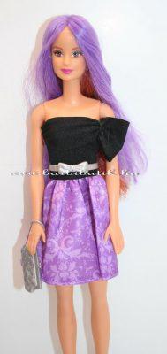 kétszínű hajú barbie lila