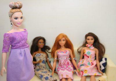 ruhapróba konytos dundi barbie