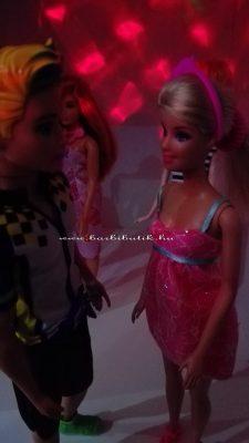 Barbie és kris diszkofény