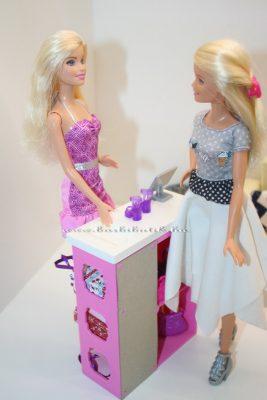 barbie cipősbolt a pénztárnál