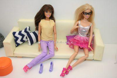 cipő próba barbie