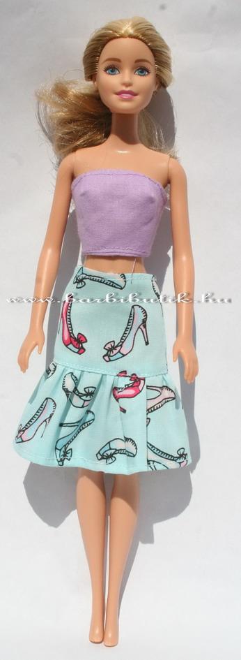 barbie cipős szoknya
