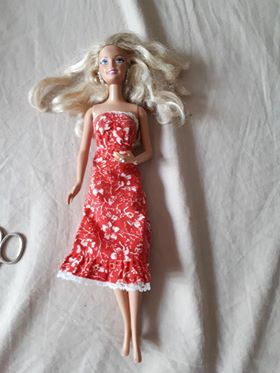 Barbie haj javítása 1