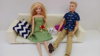 barbie és ken zöldben