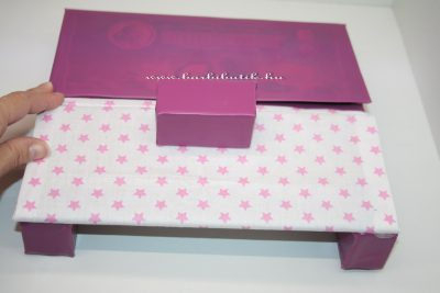 barbie kanapé készítése 11