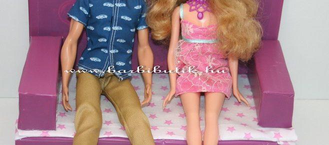 Kinyitható Kanapé Barbie méretben