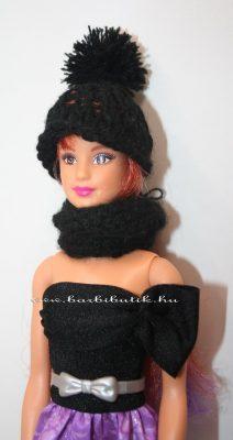 fekete barbie sapka sál