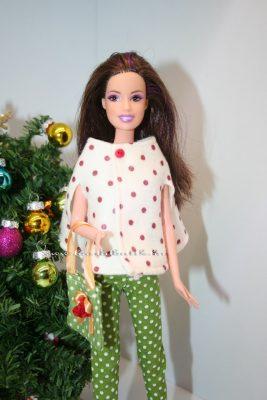 pöttyös barbie bolero
