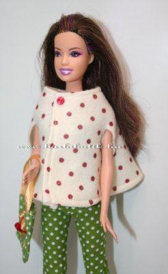 barbie bolero pöttyös1