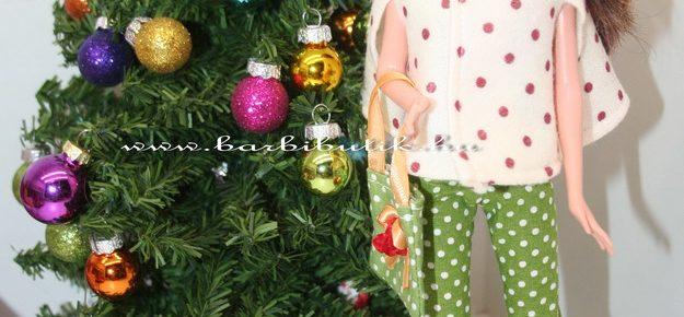 Barbie bolero, hűvösebb napokra