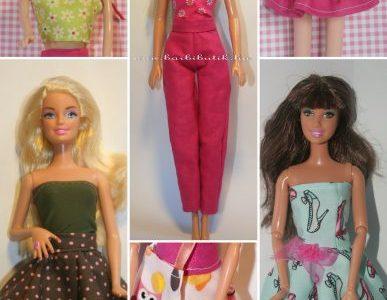 barbie alap ruhakészítő csomag kép új