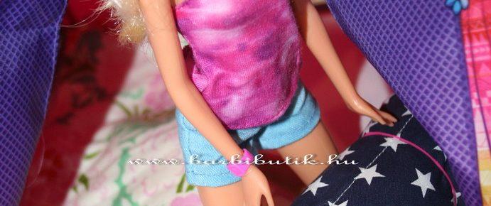 Hálózsák készítése Barbie részére, készülünk a kirándulásokra
