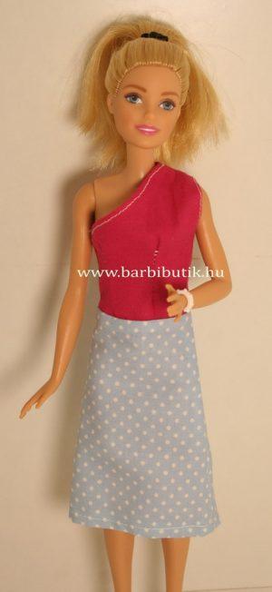 egypántos barbie ruha pink kék