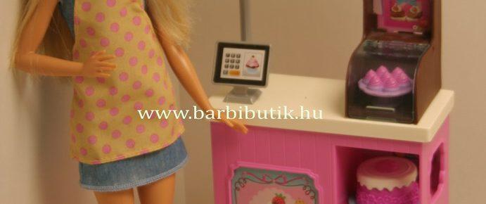 Bemutatom a Barbie cukrászdát