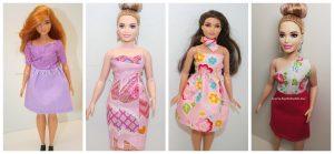 Curvy barbie ruhakészítő csomag 2.